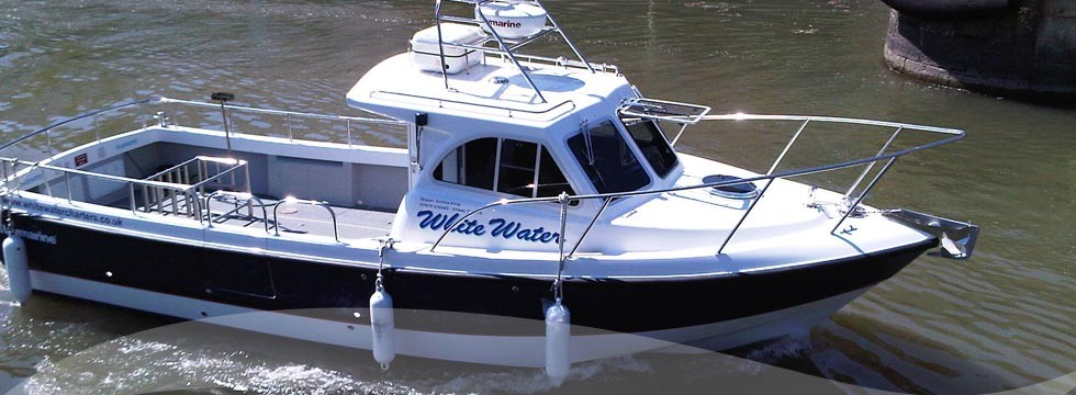 Breaksea boats manufacturers of bespoke charter and for Fishing boat brands